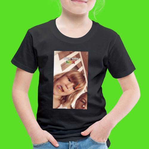 Jossan Gossan rainbow - Premium-T-shirt barn