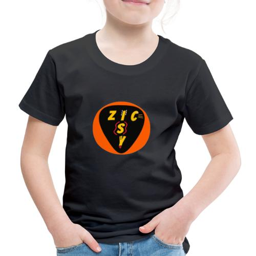 Zic izy rond orange - T-shirt Premium Enfant