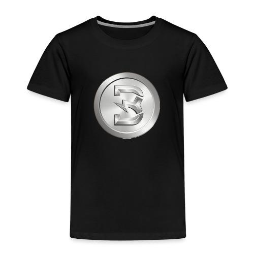Burst Silver - Kinderen Premium T-shirt