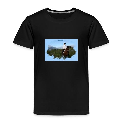 Islandshest 8265 png - Premium T-skjorte for barn