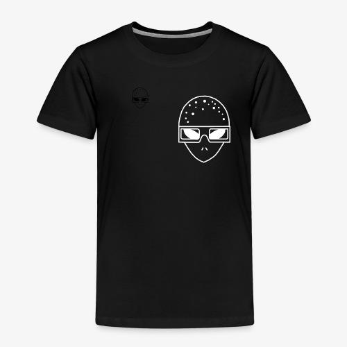 Mr3DAlien Logo White - Kinder Premium T-Shirt