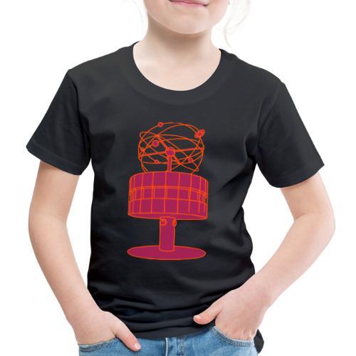 Weltzeituhr Berlin 2 - Kinder Premium T-Shirt