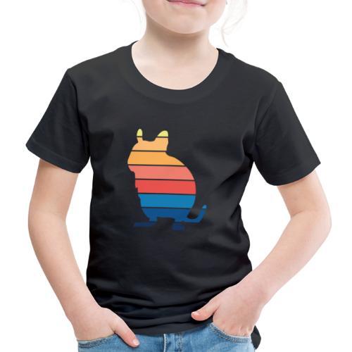 Degu Vintage   Octodon Degus Geschenk - Kinder Premium T-Shirt