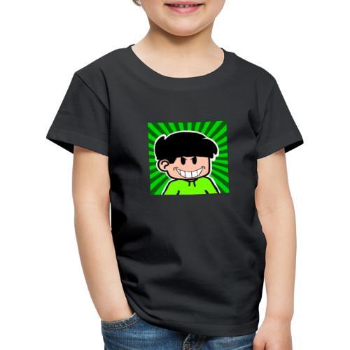 Linus e lite mindre glad - Premium-T-shirt barn