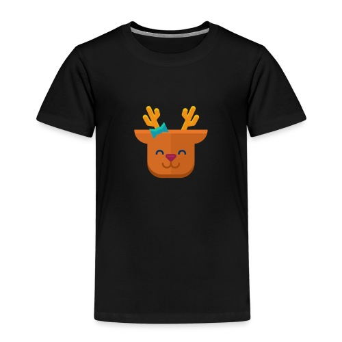 When Deers Smile by EmilyLife® - Kids' Premium T-Shirt
