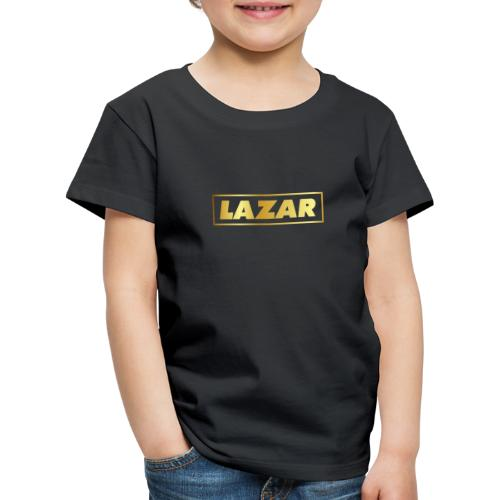 00397 Lazar dorado - Camiseta premium niño