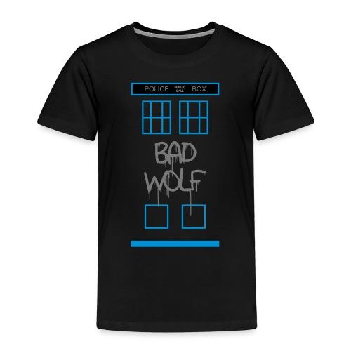Doctor Who Bad Wolf - Maglietta Premium per bambini