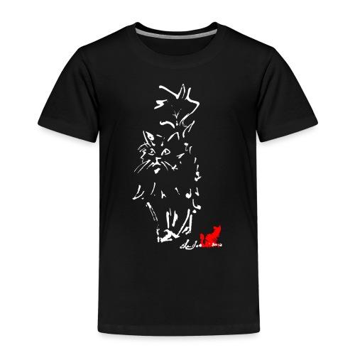 GATTO A PELO LUNGO - Maglietta Premium per bambini