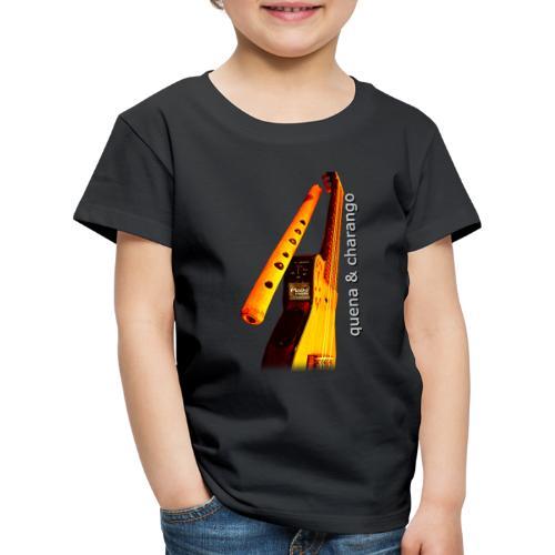 Quena y Charango II - Camiseta premium niño