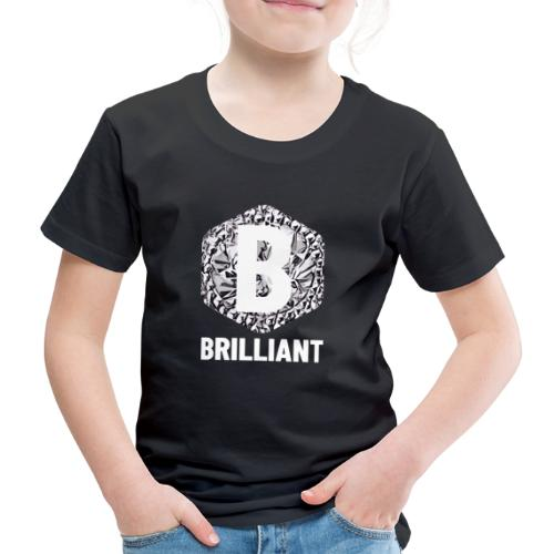 B brilliant white - Kinderen Premium T-shirt