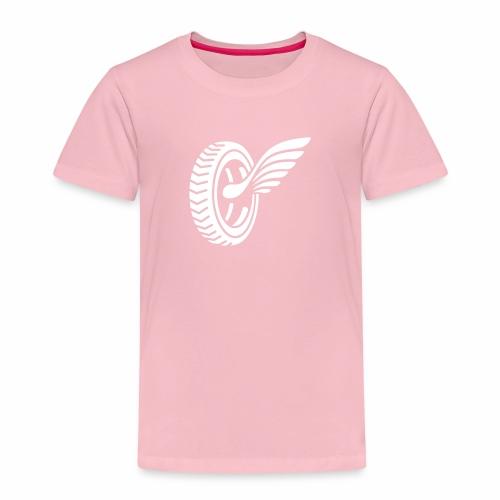 Car badge tires and wings - Kids' Premium T-Shirt
