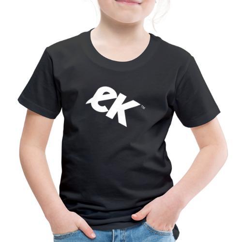 EK logo blanc # 1 - T-shirt Premium Enfant