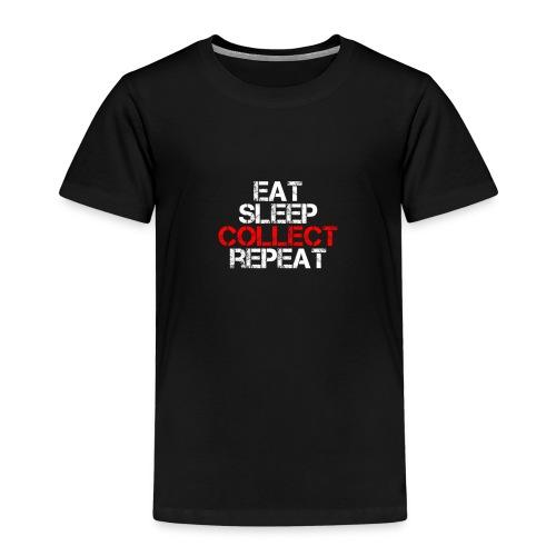 eat sleep - Kids' Premium T-Shirt
