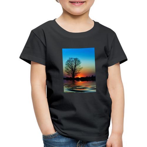Evening - Premium-T-shirt barn