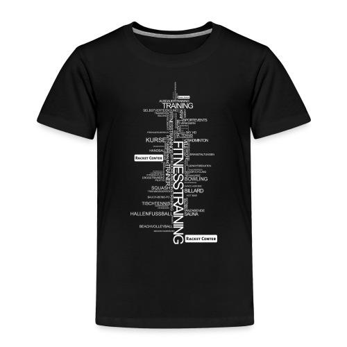 Alles über Fitness Motiv weiß - Kinder Premium T-Shirt