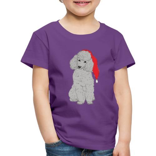 Poodle toy G - christmas - Børne premium T-shirt