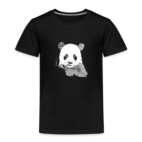 Fröhlicher Pandabär - Kinder Premium T-Shirt