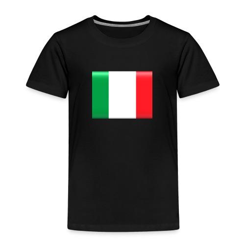 Muurprint wanddecoratie Vlag van Italie 03 jpg - Kinderen Premium T-shirt