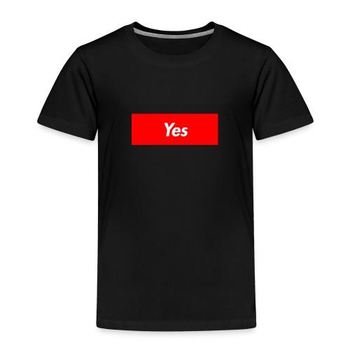 Yes - Kids' Premium T-Shirt