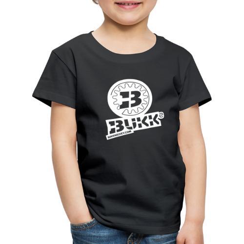 BUKK EMBL white - Lasten premium t-paita