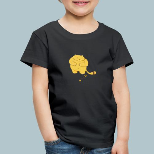 Katze stehend - Kinder Premium T-Shirt