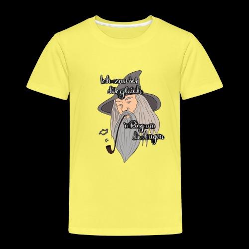 Ich zauber dir gleich nen Ring um die Augen - Kinder Premium T-Shirt
