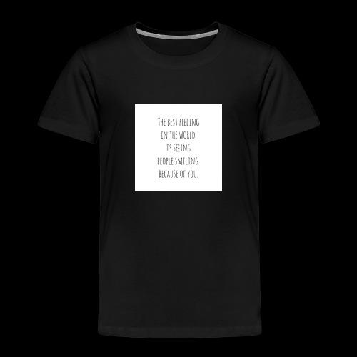 Weil es einfach ist - Kinder Premium T-Shirt