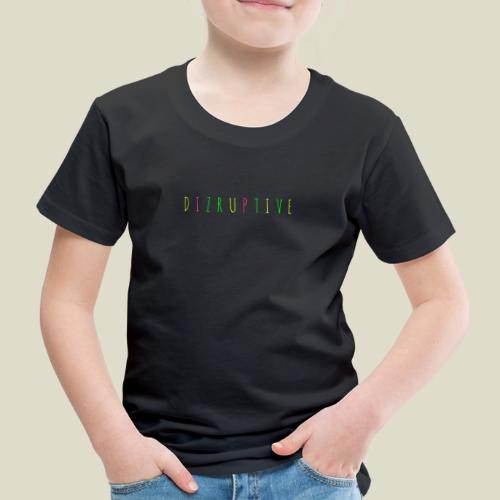 dizruptive bunt - Kinder Premium T-Shirt