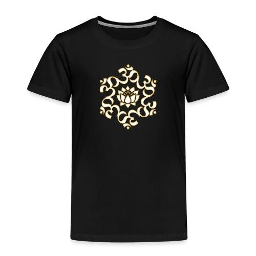 Om Lotus, Buddhismus, Yoga, Meditation, spirituell - Kinder Premium T-Shirt