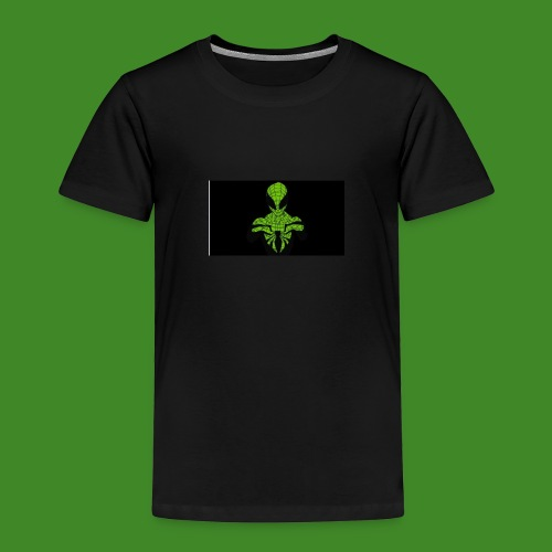 Green spiderman - Kids' Premium T-Shirt