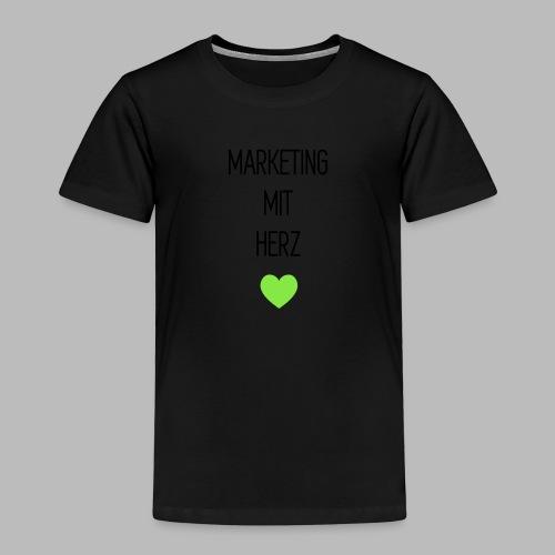 Marketing mit Herz - Kinder Premium T-Shirt