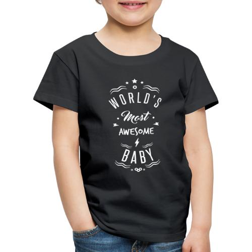 awesome baby - T-shirt Premium Enfant