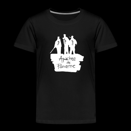 logo apache blanc - T-shirt Premium Enfant