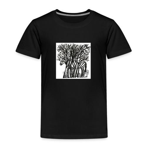 zebre fini - T-shirt Premium Enfant