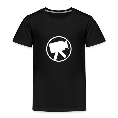 logo wit videotijd - Kinderen Premium T-shirt