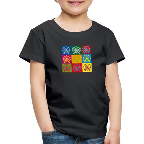 Wien Riesenrad - Kinder Premium T-Shirt
