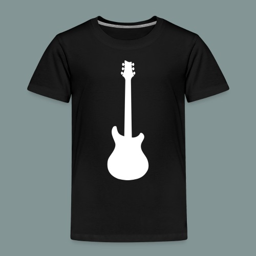 White Guitar - T-shirt Premium Enfant