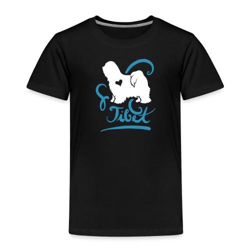 Tibet Terrier ornamental - Kinder Premium T-Shirt