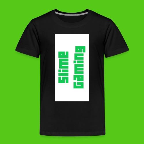 white phone logo jpg - Kids' Premium T-Shirt
