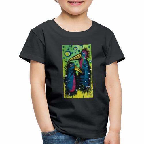 Two Birds - Børne premium T-shirt