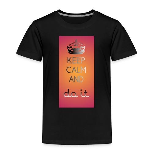 Keep calm and do it enjoy - Kinder Premium T-Shirt
