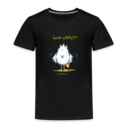 popohuhn m schrift png - Kinder Premium T-Shirt