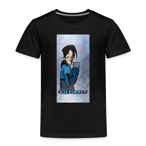 Valp Mobilskal png - Premium-T-shirt barn
