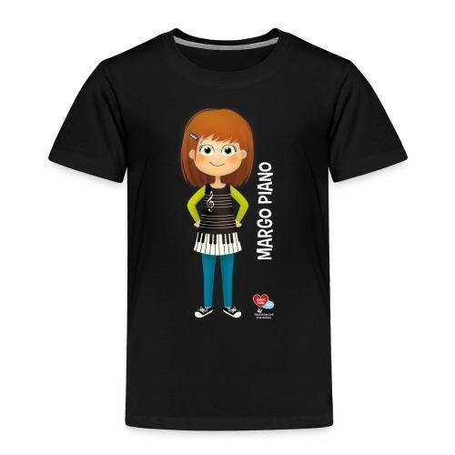 Margo Piano T-Shirt blanc - T-shirt Premium Enfant
