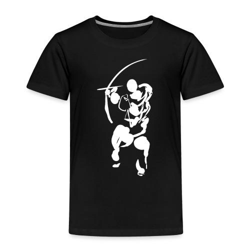 Path of the bow (white) - Kids' Premium T-Shirt
