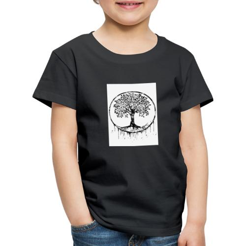Tree of Life black by Erzebet S - T-shirt Premium Enfant