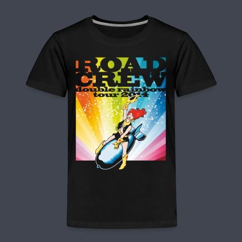 double rainbow tour - Kinder Premium T-Shirt