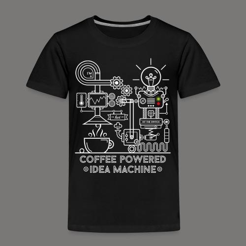 Coffee powered - white - Kinder Premium T-Shirt