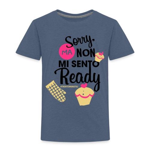 Non mi sento pronto - 30enninutili - Maglietta Premium per bambini