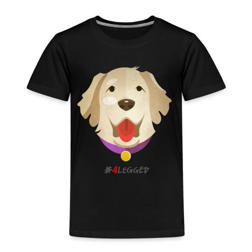 Golden Retriever - Maglietta Premium per bambini